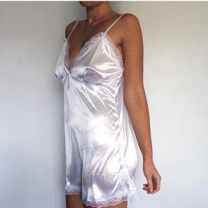 GRAY Timeless Luxury Slip Lingerie Dress